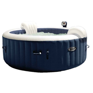 Intex Intex Pure Spa 4-Person Inflatable Portable Heated Bubble Jacuzzi Jets Bubble Massage