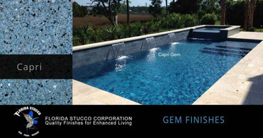 Florida Stucco Pool Plaster Finish Capri
