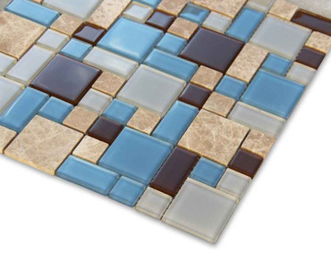 Pool Tile Puzzle Blend Series - PBSMIX
