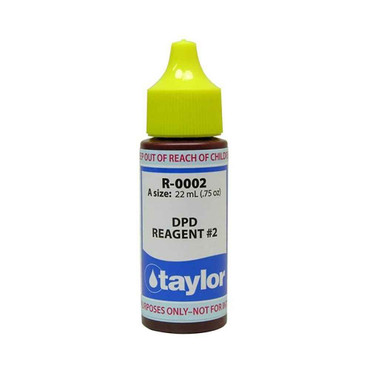 Taylor Taylor R-0002-A Reagent #2 Chlorine/Bromine DPD .75 ounce