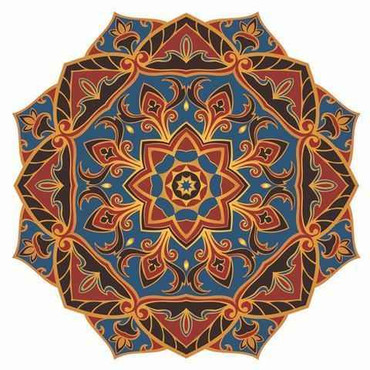 Mosaic Mystic Voyage Mandala - Pool Mosaic