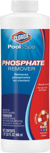 Clorox CLOROX PoolandSpa Phosphate Remover, 1-Quart 55032CLX