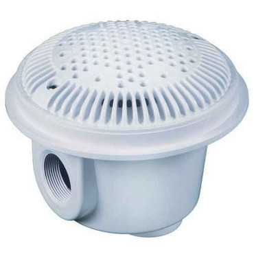 cmp CMP Pool Main Drain 2-Inch White Deluxe Suction Outlets