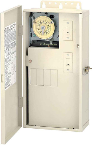 InterMatic Intermatic T21004R 60-Amps Pool/Spa Control Panel T104M DPST, Color