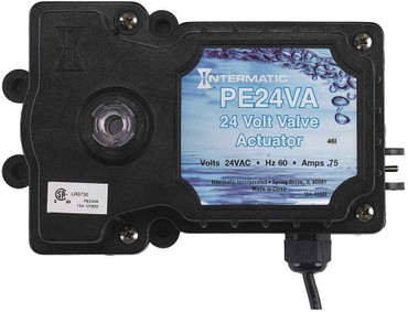 InterMatic Intermatic PE24VA Valve Actuator, Black