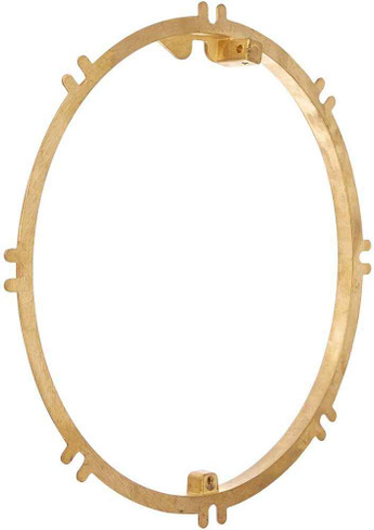 Pentair Pentair 79211600 Brass Concrete Plaster Ring Replacement Large Stainless Steel Niches