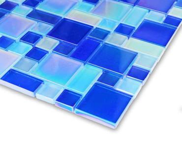 Pool Tile Iridescent Series - K6-ISBBRANDOM