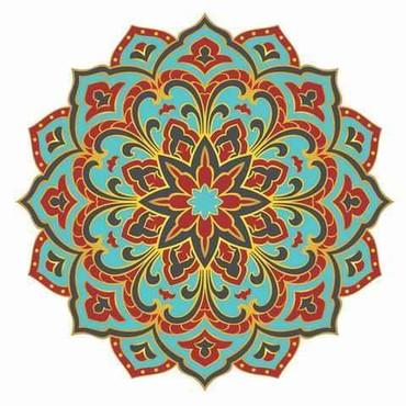 Mosaic Radiant Beauty Mandala-Pool Mosaic