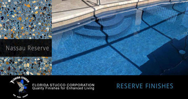 Florida Stucco Pool Plaster Finish Nassau Reserve