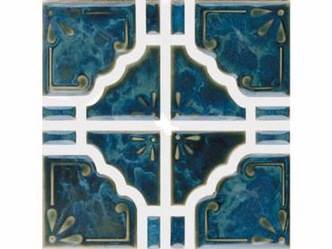 National Pool Tile Moonbeam Ocean Green 1SQF