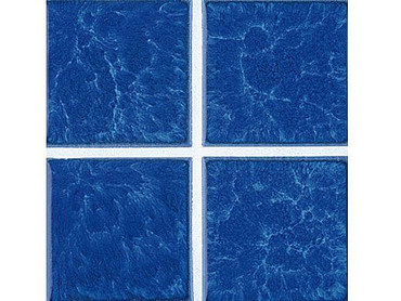 National Pool Tile Harmony 3x3 Series Lake Blue
