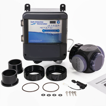 Salt Water Pool Chlorine Generator System Chlorinator for 35000 Gallons Pool 8