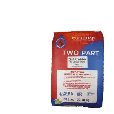 Multicoat Scratch Kote Dry 65LB Bag