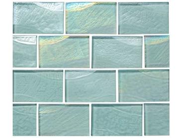 National Pool Tile Sea Ice Series 2x3 Glass Tile