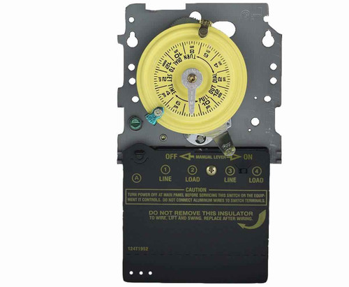 InterMatic Intermatic T101M 24-Hour Mechanical Timer SPST Mechanism