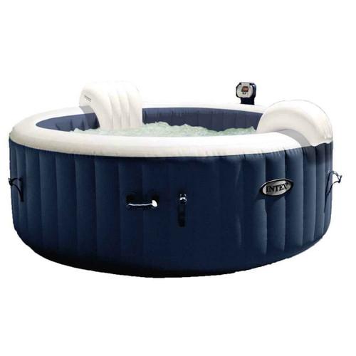 Intex Intex Pure Spa 4-Person Inflatable Portable Heated Bubble Jacuzzi Jets Bubble Massage