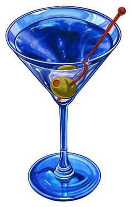 Mosaic Martini Drink Porcelain Mosaic