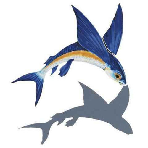 Mosaic Flying Fish-A FF45/SH with shadow Ceramic Mosaic