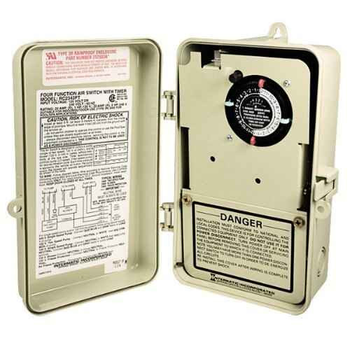 InterMatic Intermatic RC2343PT Air Switch with Timer 4 Function by Intermatic