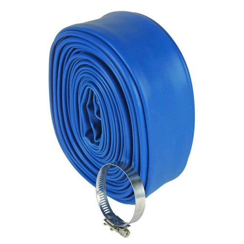 DG Pool Products Heavy-Duty Backwash Hose, Essential Collection 2-Inch x 50-Feet