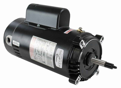 Century Century Electric UST1202 2-Horsepower Up-Rated Round Flange Replacement Motor Formerly AO Smith