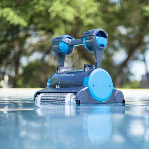 Dolphin Dolphin Premier Robotic Pool Cleaner Multiple Filter Options, In-ground Swimming Pools up to 50 Feet
