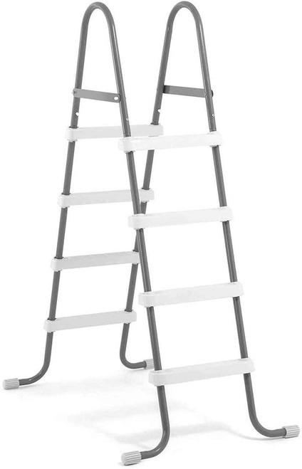 Intex Intex Steel Frame Above Ground Swimming Pool Ladder for 48 Inch High Wall Pools