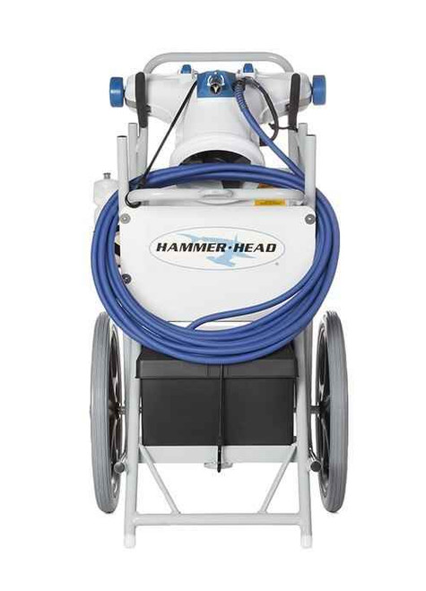 Hammerhead Service Vacuum With 21 Inch Head, 40 Foot Cord, Two Debris Bags