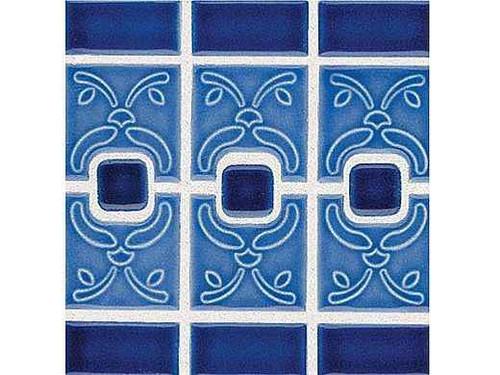 National Pool Tile Luciana Series Pool Tile Electric Blue