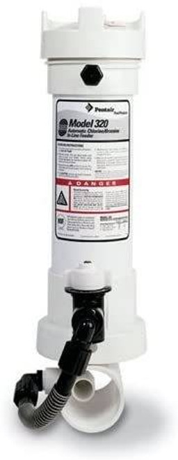 Pentair Pentair R171096 Rainbow 320 Automatic In-Line Chlorine/Bromine Feeder For Pool And Spa