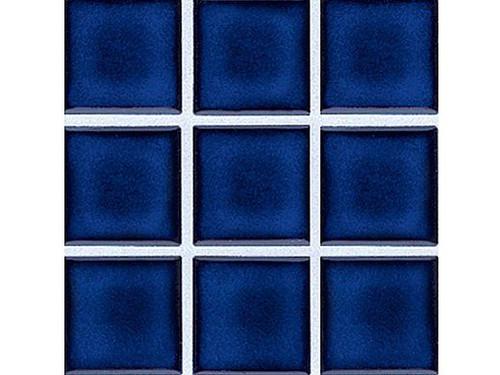 National Pool Tile 2x2 Glazed Series Royal Blue