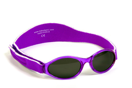 Baby Banz Adventure Banz Sunglasses Ages Paradise Purple