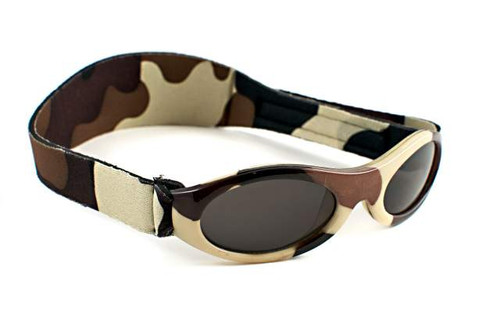 Baby Banz Adventure Banz Sunglasses Ages Brown Camo