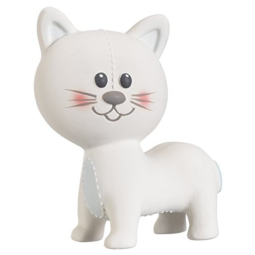 Lazare the Cat Sophie's Teether Squeak Toy By Vulli