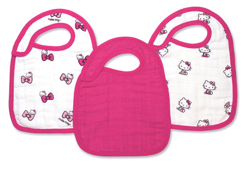 Hello Kitty¨ Snap Bibs snap bibs 3 Pack by Aden and Anais