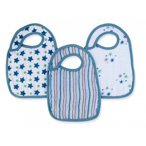 Prince Charming Snap Bibs snap bibs 3 Pack by Aden and Anais