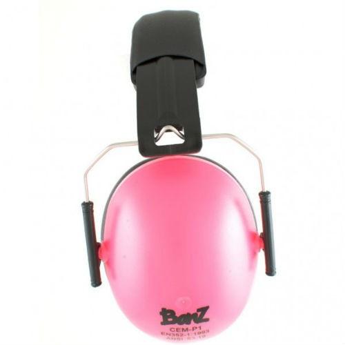 Flamingo Pink Earmuffs byBaby  Banz