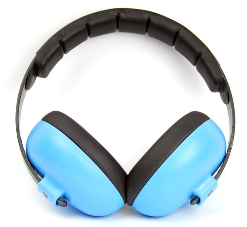 Baby Blue Earmuffs by Baby  Banz
