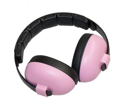 Baby Pink Earmuffs by Baby  Banz