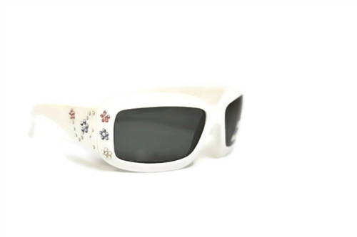 White with flowers Junior BanZ - Ages 4-10 - Jimmy Crystal