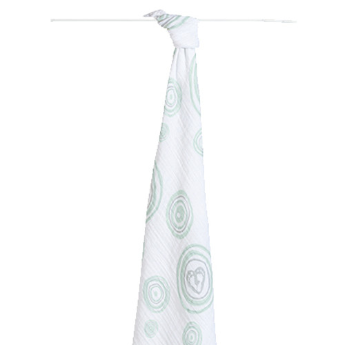 Aden and Anais Hayden's heart - heart of mine classic swaddle