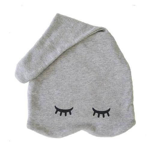 Zoe b organic sleepy hats sweet Grey preemie