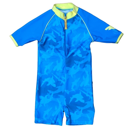 Baby Banz one Piece suit UPF 50+ Fin Frenzy 3 months- 24 months