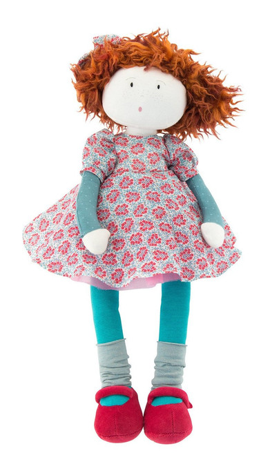 Moulin Roty Fanette Rag Doll Les Coquettes 20 inches