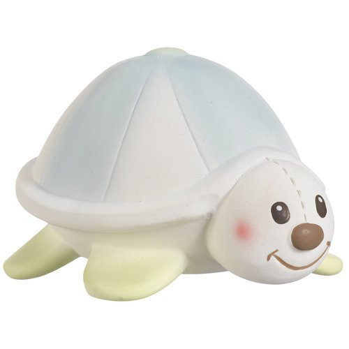 Margot the Turtle Sophie's Teether Squeak Toy By Vulli
