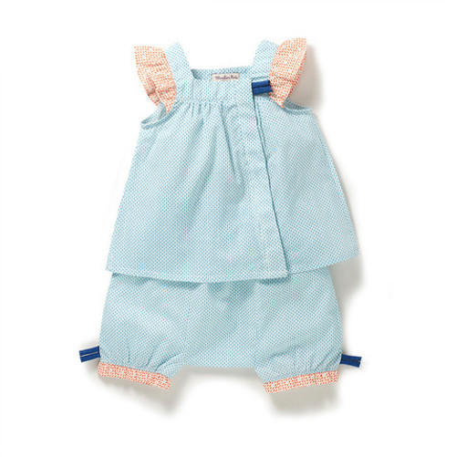 Moulin Roty Ofelia tunic & bloomers set