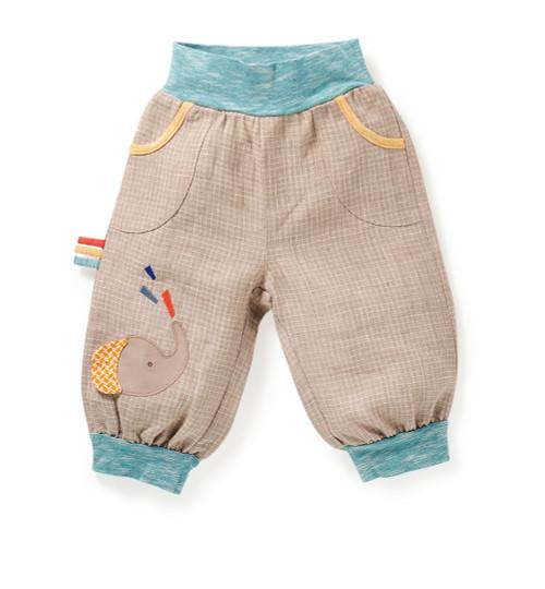 Moulin Roty Oger linen trousers (Serwal)