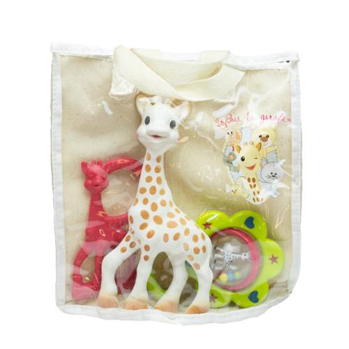 Sophie the Giraffe Cotton gift bag