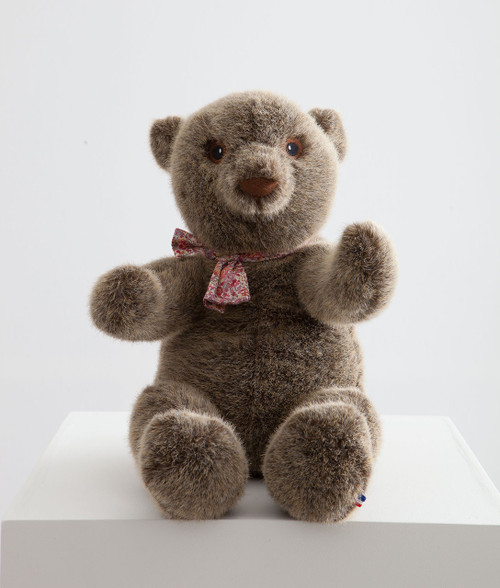 Pamplemousse Robert the Bear Ð 12 inches Stone Color