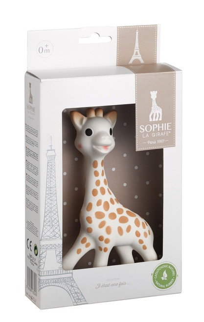 Sophie the Giraffe teether by Vulli